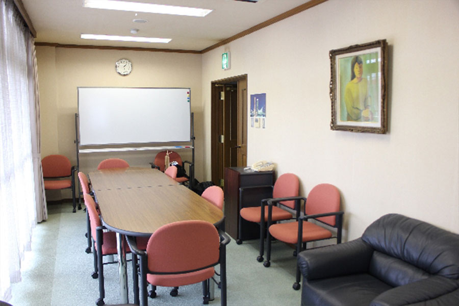 神戸市魚崎財産区 魚崎会館 : 応接室