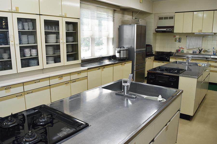 神戸市魚崎財産区 横屋会館 : 調理室